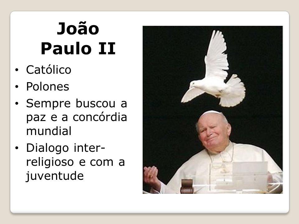 João Paulo II Católico Polones