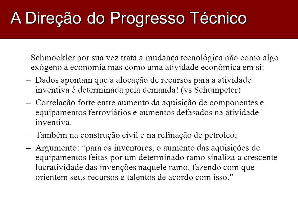 A Direção do Progresso Técnico