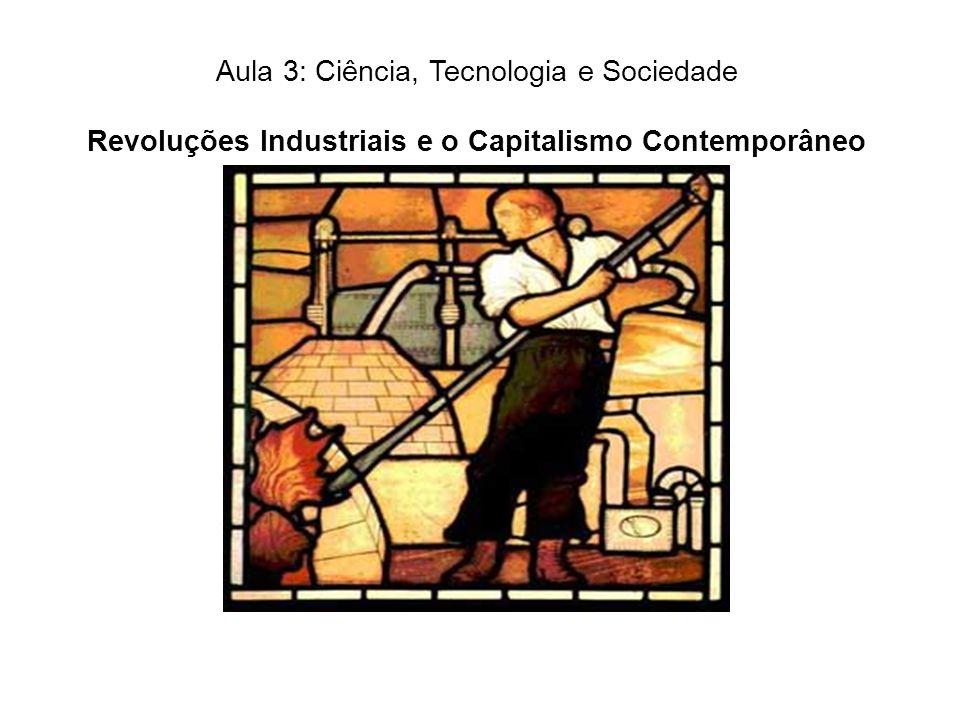 Aula 3: Ciência, Tecnologia e Sociedade Revoluções Industriais e o Capitalismo Contemporâneo