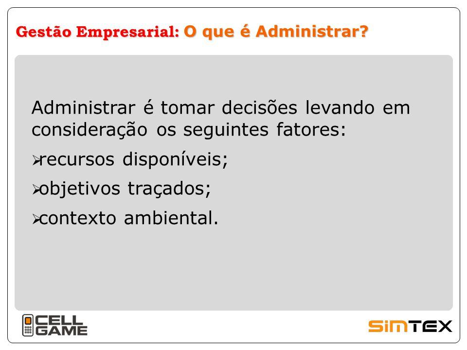 Gestão Empresarial: O que é Administrar