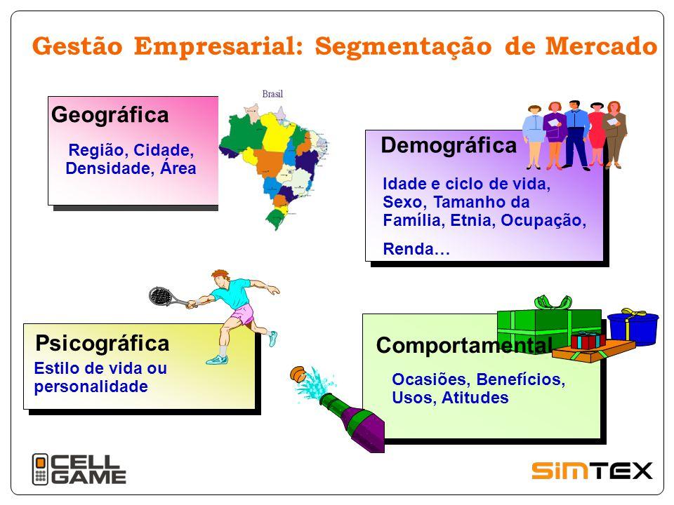 Gestão Empresarial: Segmentação de Mercado