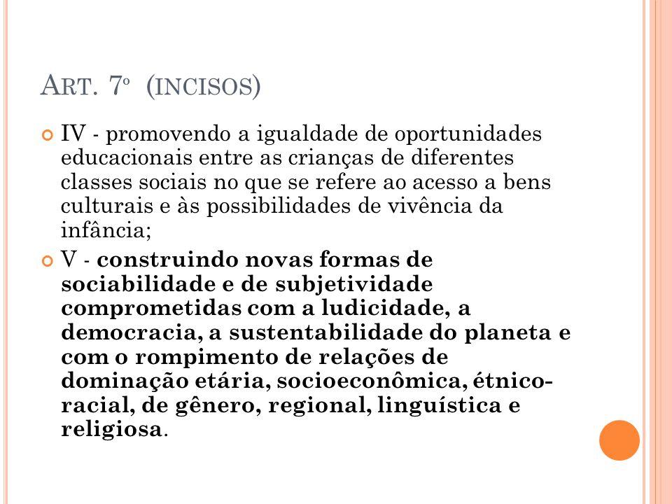 Art. 7º (incisos)