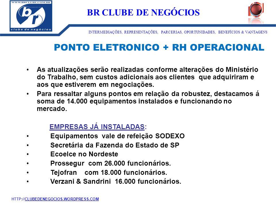 PONTO ELETRONICO + RH OPERACIONAL