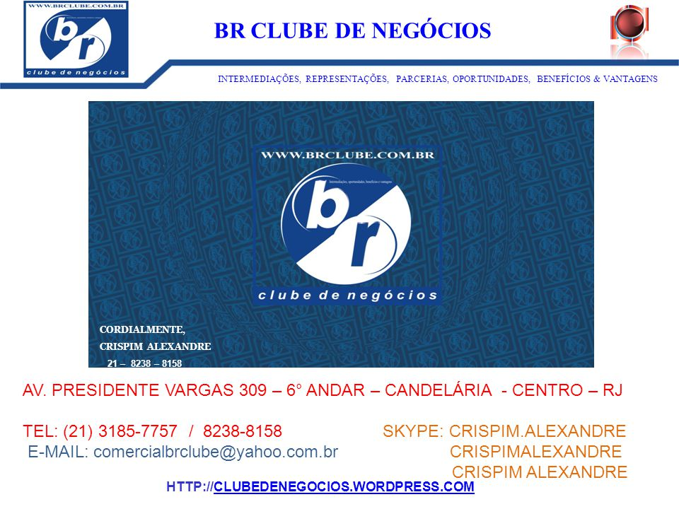 ID:1273 BR CLUBE DE NEGÓCIOS