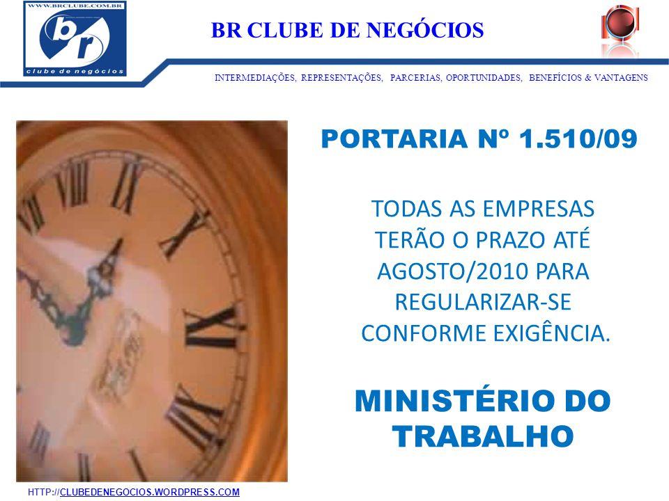 ID:1273 BR CLUBE DE NEGÓCIOS. INTERMEDIAÇÕES, REPRESENTAÇÕES, PARCERIAS, OPORTUNIDADES, BENEFÍCIOS & VANTAGENS.