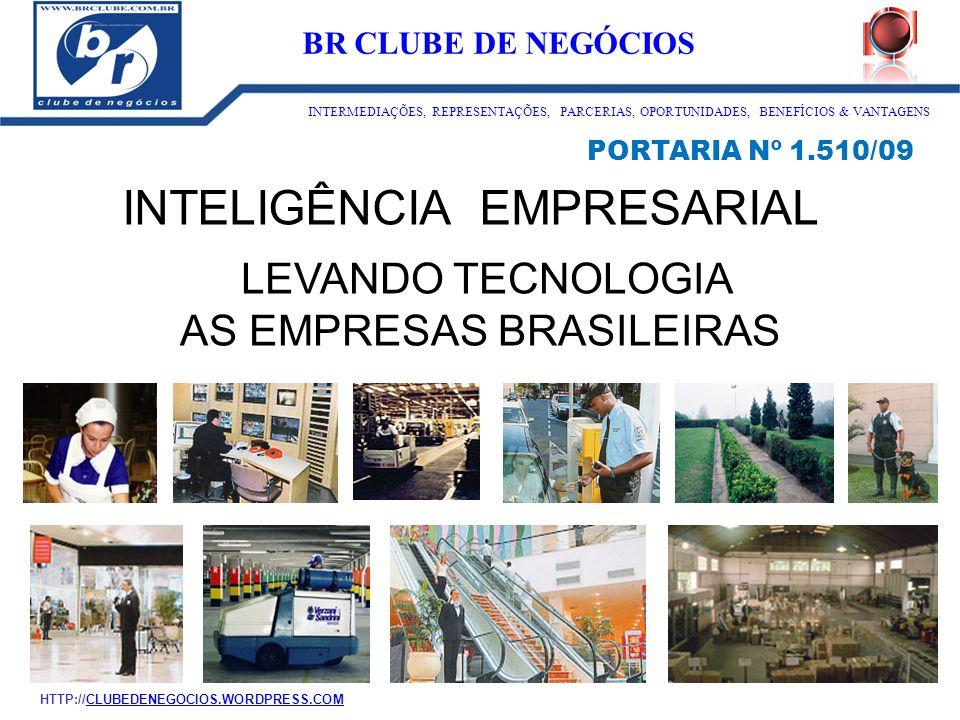 AS EMPRESAS BRASILEIRAS