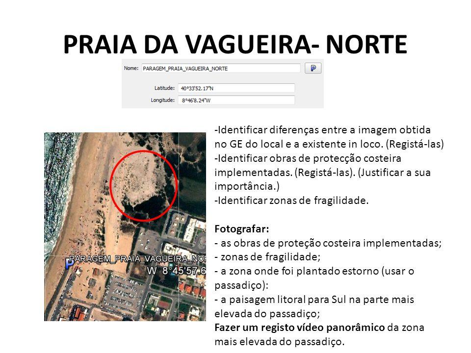 PRAIA DA VAGUEIRA- NORTE