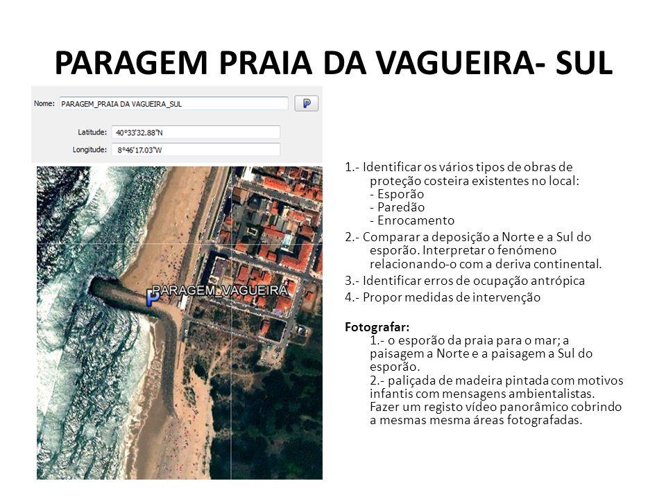 PARAGEM PRAIA DA VAGUEIRA- SUL