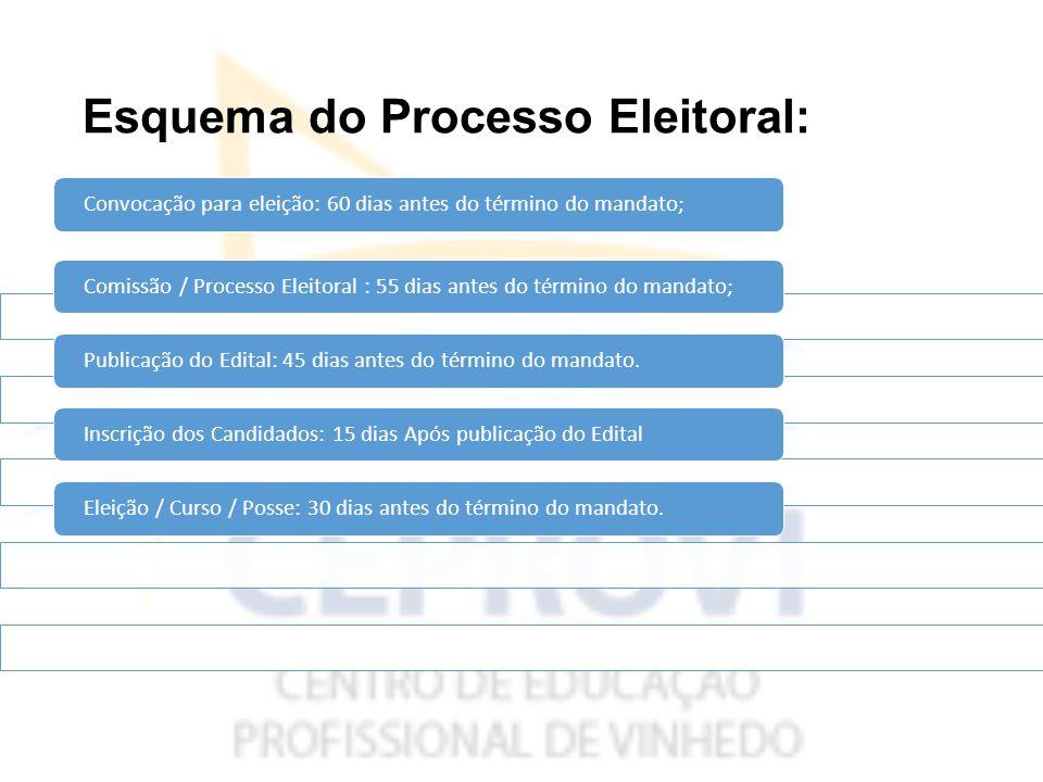 Esquema do Processo Eleitoral: