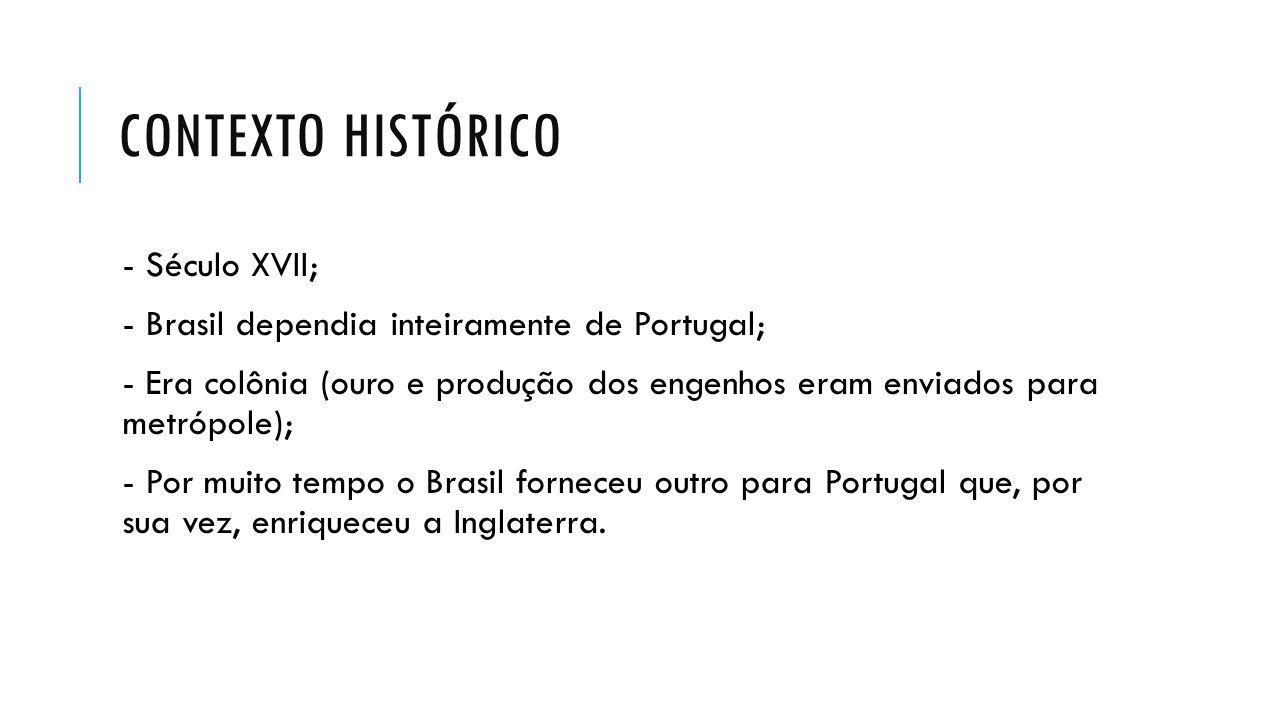 Contexto histórico - Século XVII;