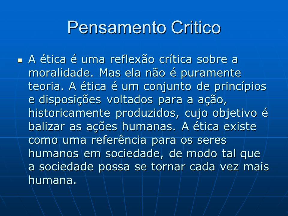 Pensamento Critico