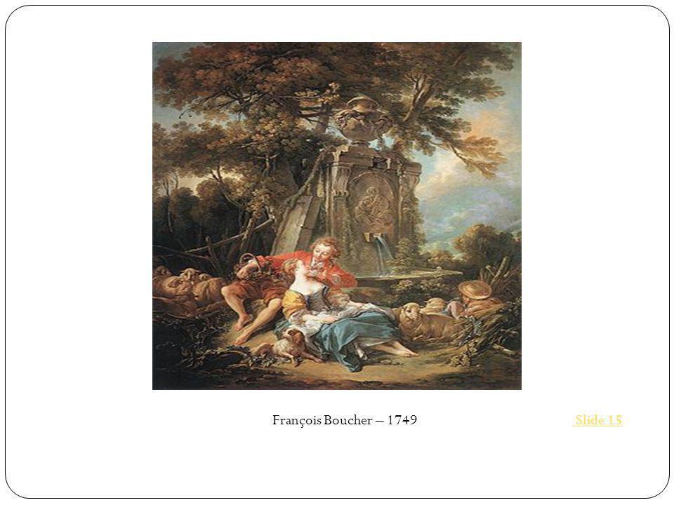 François Boucher – 1749 Slide 15