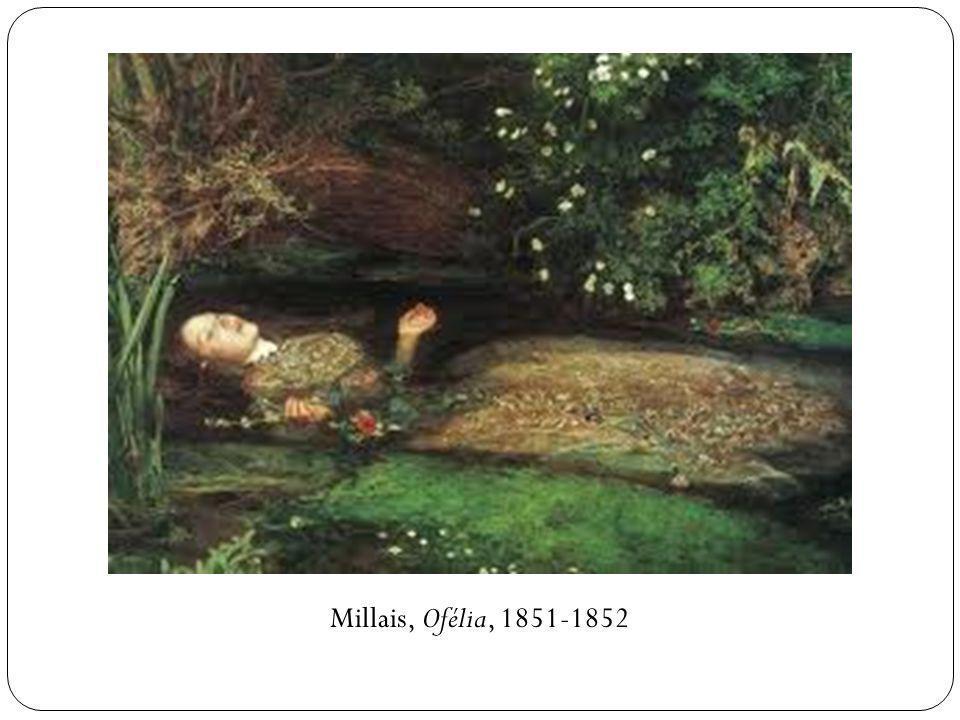 Millais, Ofélia, 1851-1852