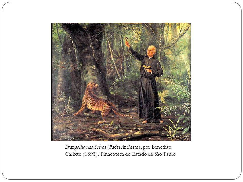 Evangelho nas Selvas (Padre Anchieta), por Benedito Calixto (1893)