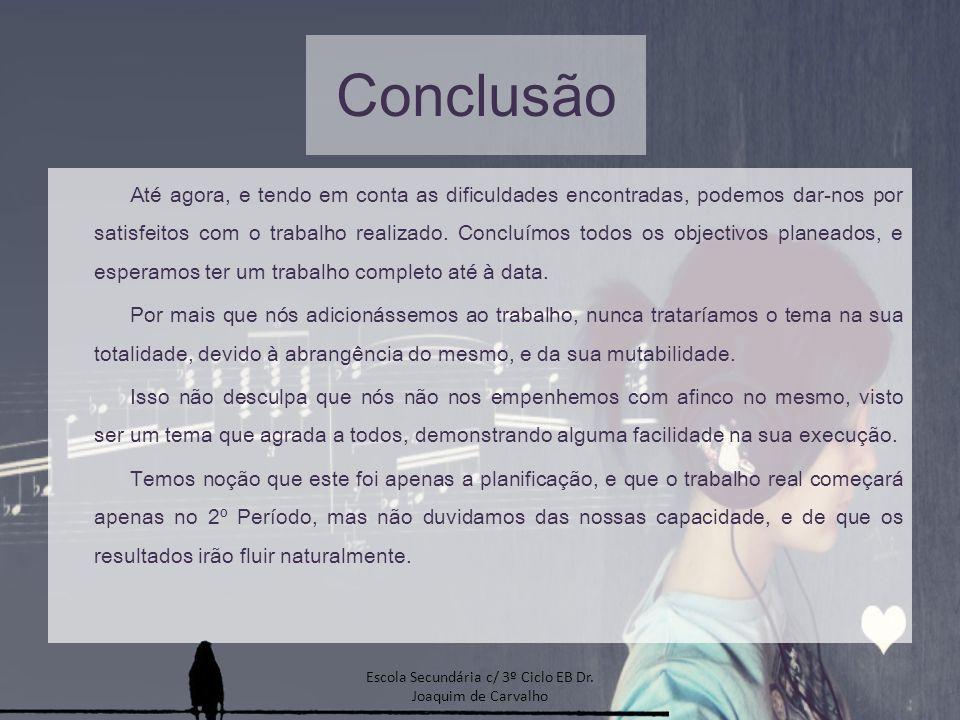 Escola Secundária c/ 3º Ciclo EB Dr. Joaquim de Carvalho