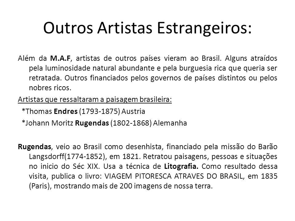Outros Artistas Estrangeiros: