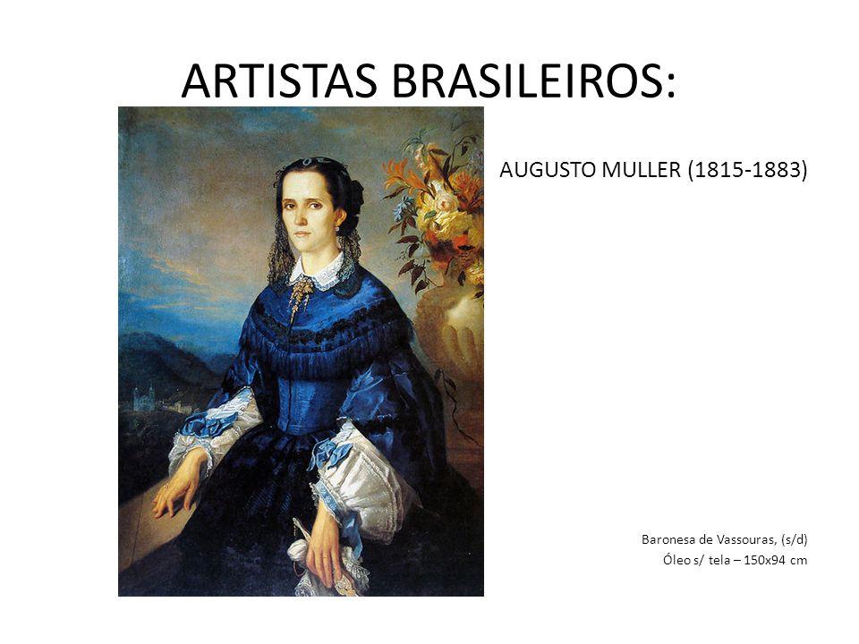 ARTISTAS BRASILEIROS: