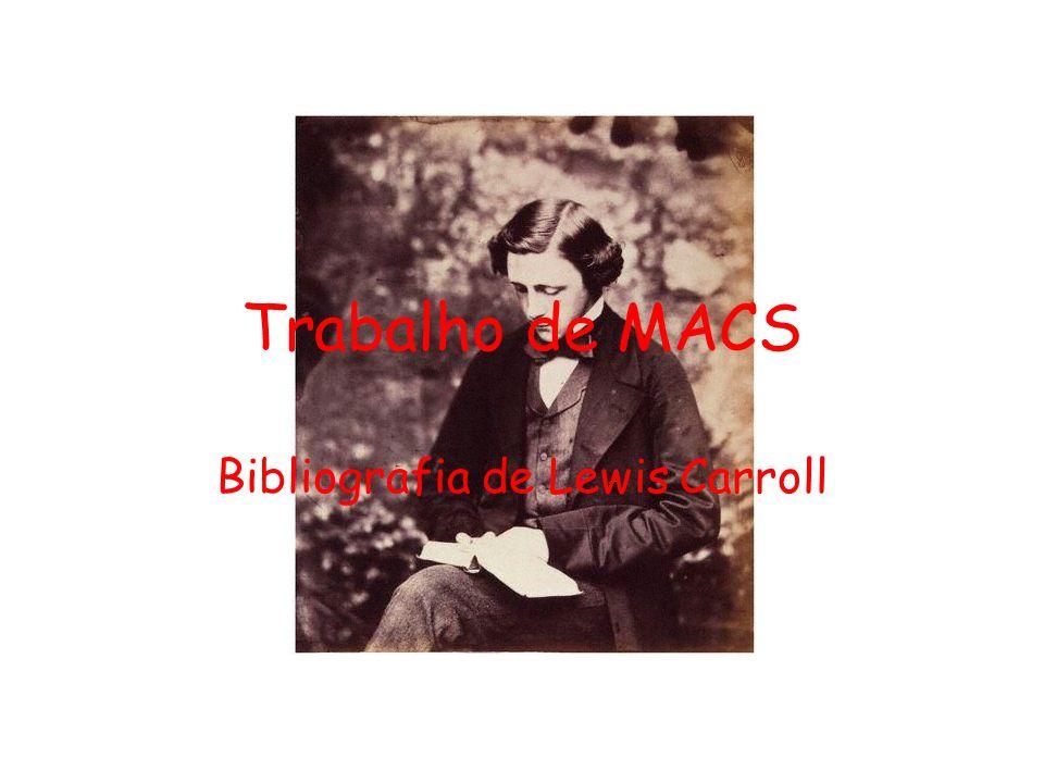 Bibliografia de Lewis Carroll