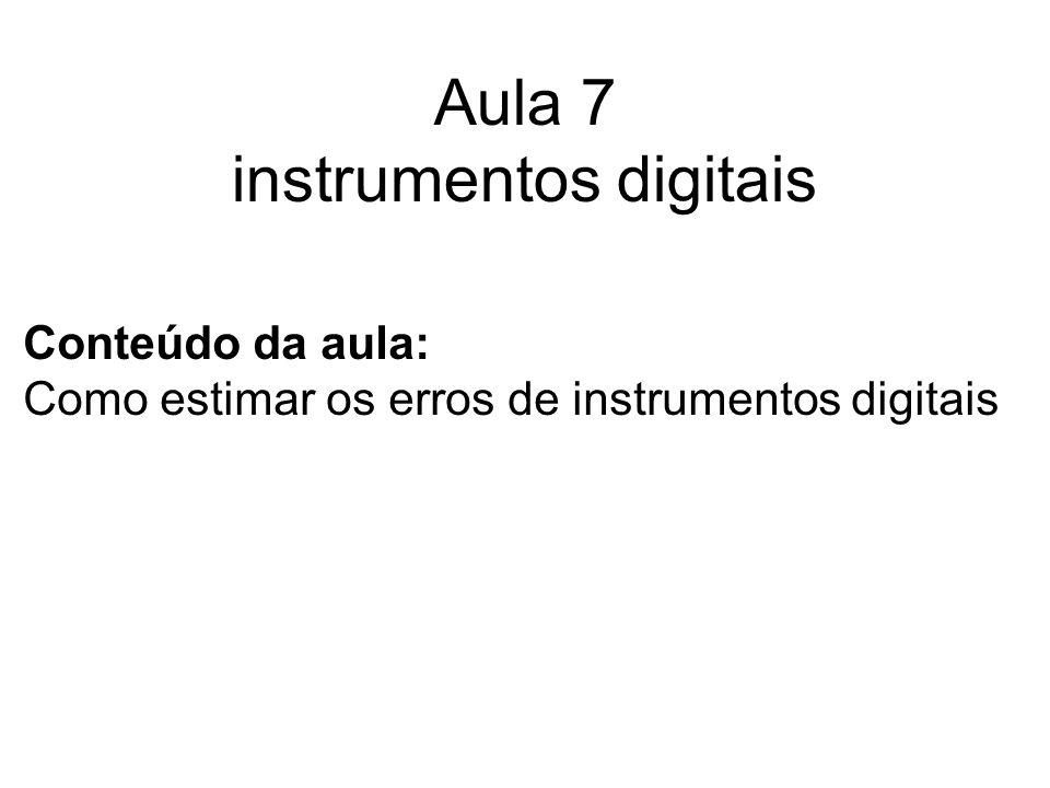 Aula 7 instrumentos digitais
