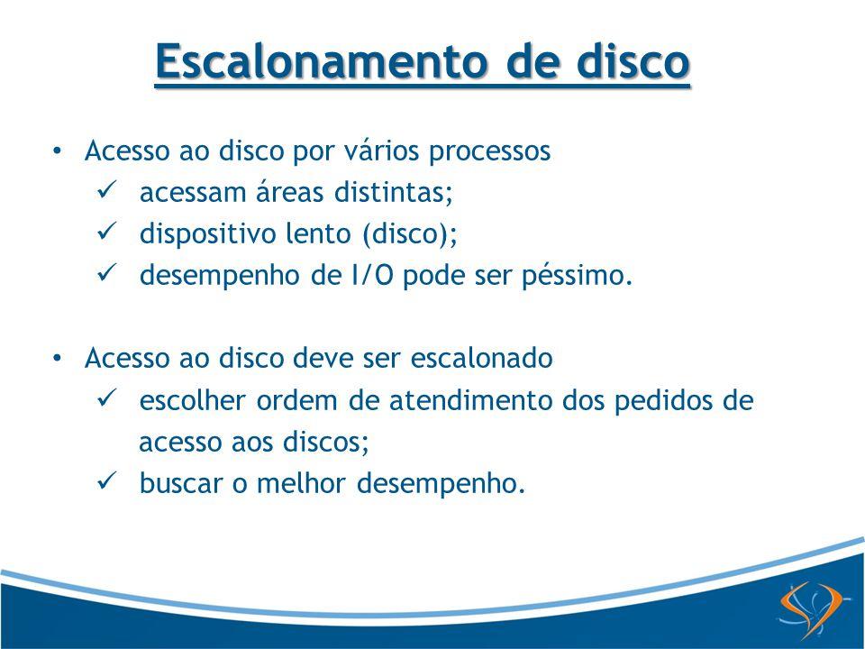 Escalonamento de disco