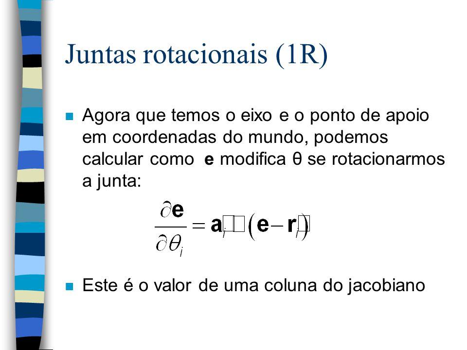 Juntas rotacionais (1R)