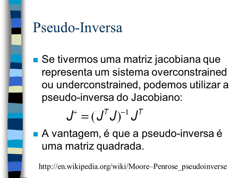 Pseudo-Inversa