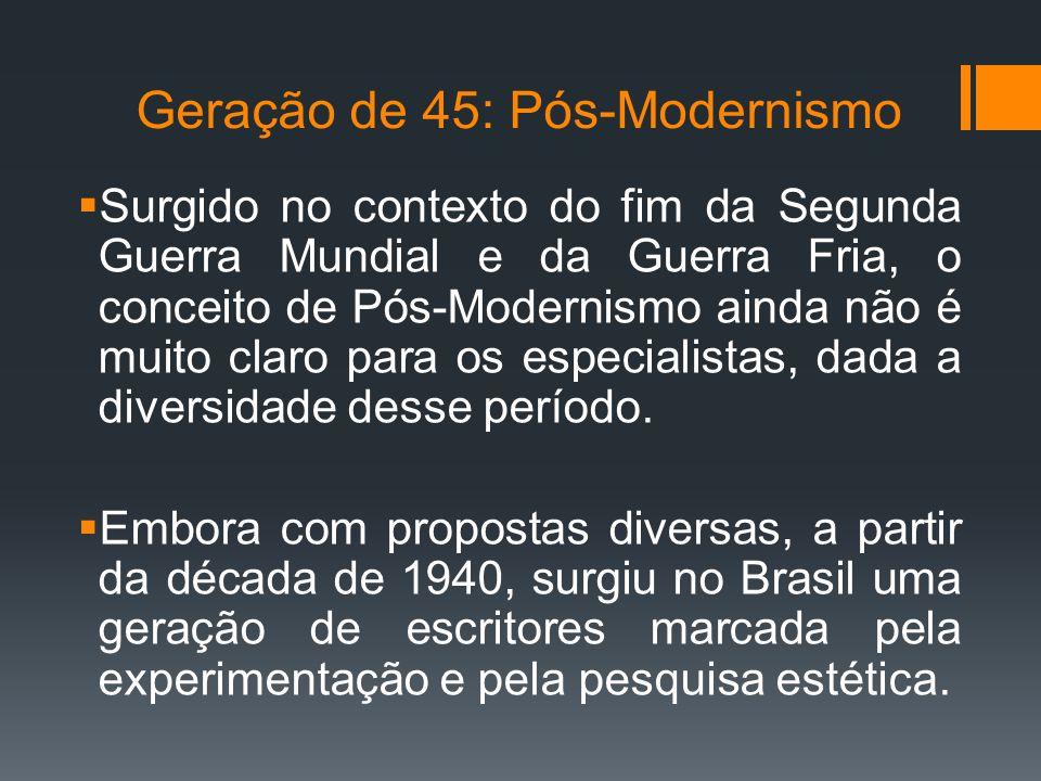 Geração de 45: Pós-Modernismo