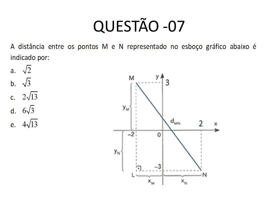 QUESTÃO -07
