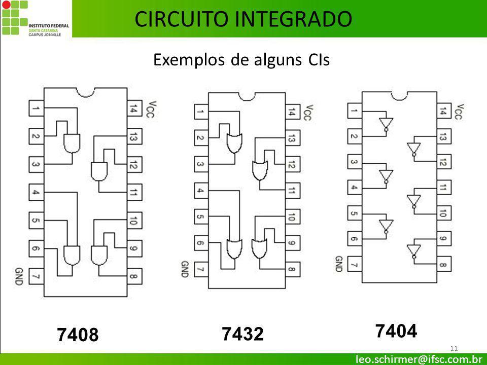 Circuito Integrado 7404 : EletrÔnica digital ii portas lÓgicas prof leo ppt
