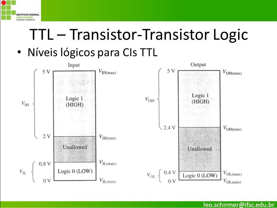 TTL – Transistor-Transistor Logic