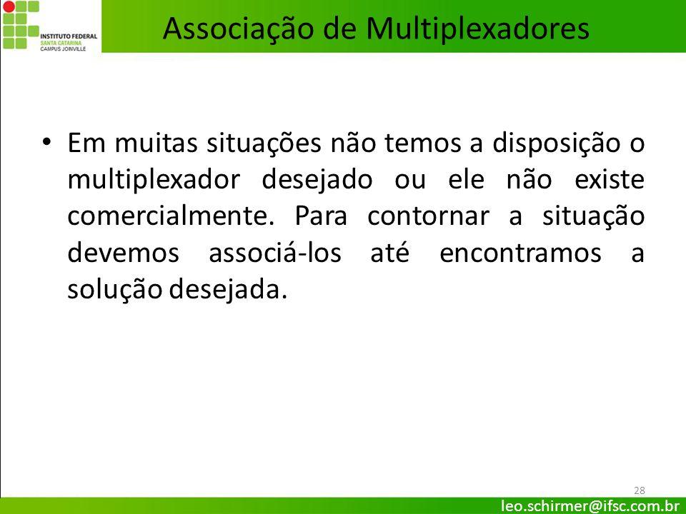 Associação de Multiplexadores
