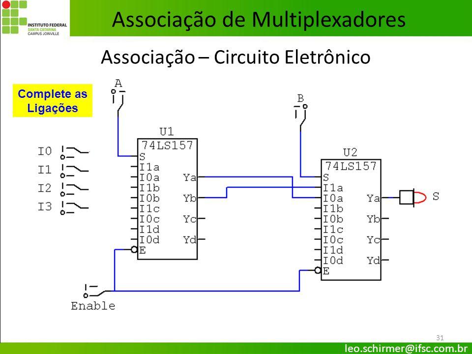 Associação – Circuito Eletrônico