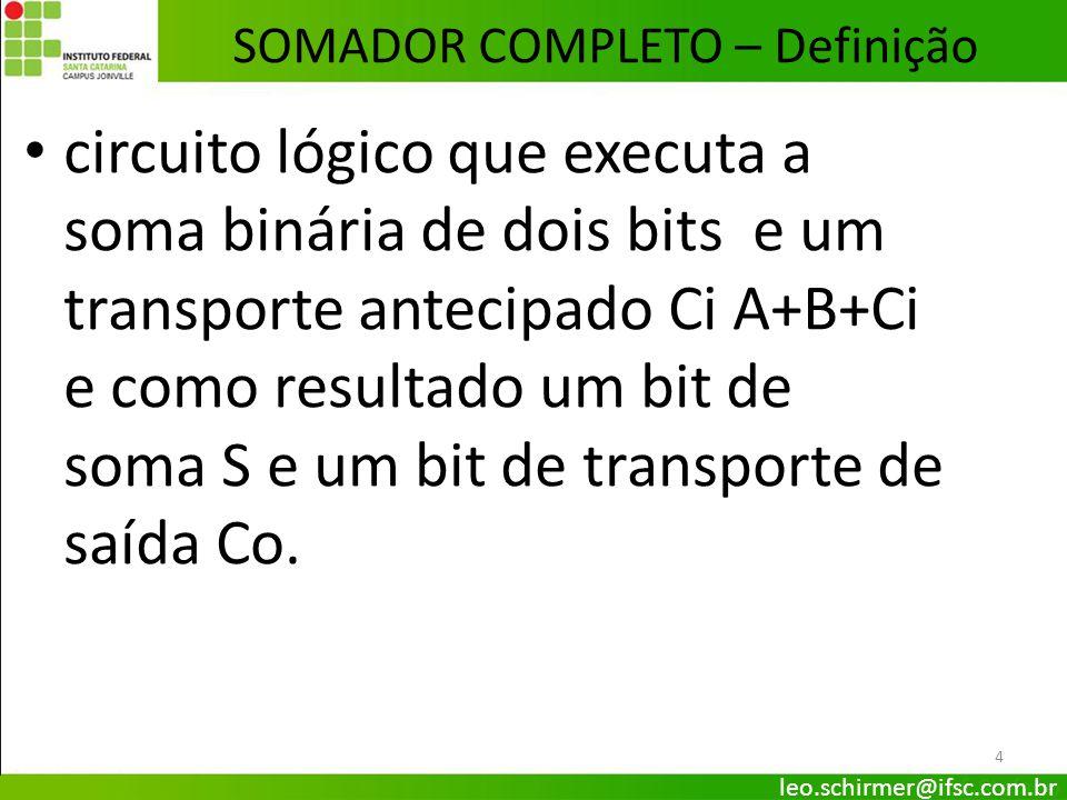 SOMADOR COMPLETO – Definição