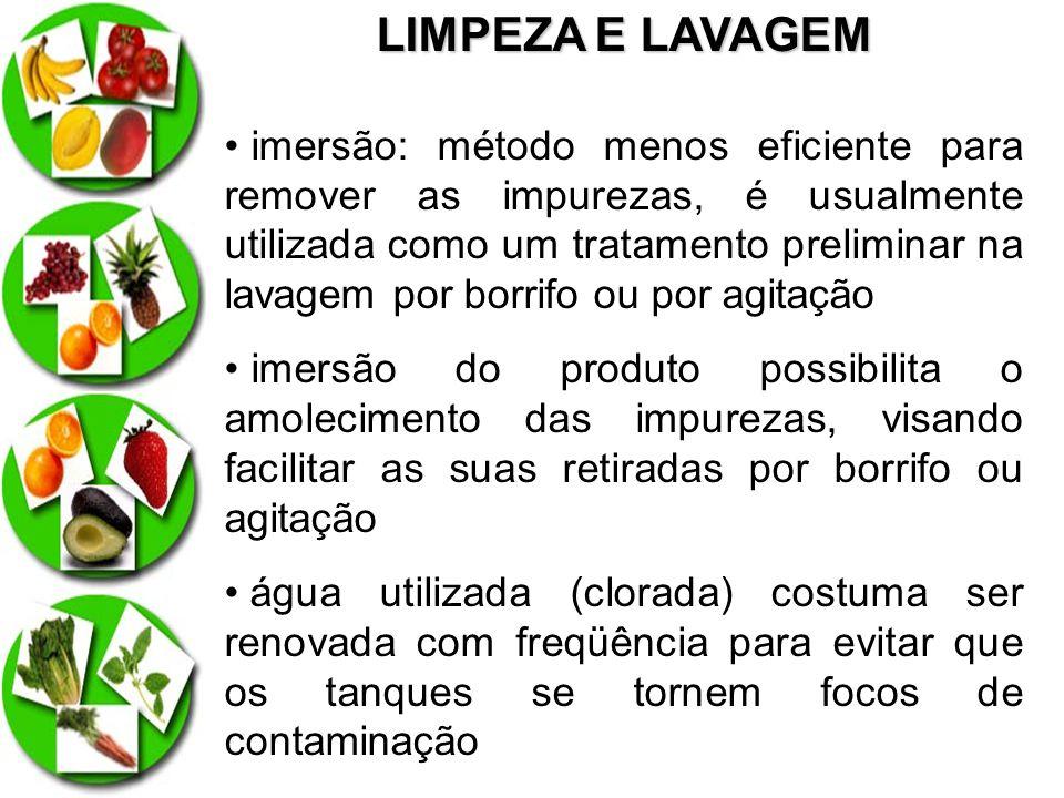 LIMPEZA E LAVAGEM