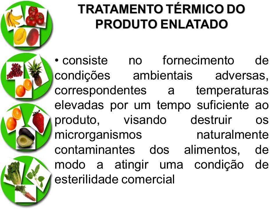 TRATAMENTO TÉRMICO DO PRODUTO ENLATADO