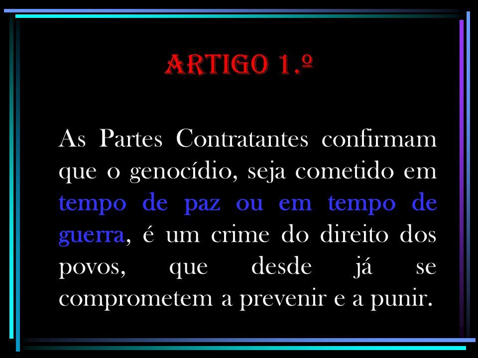 Artigo 1.º