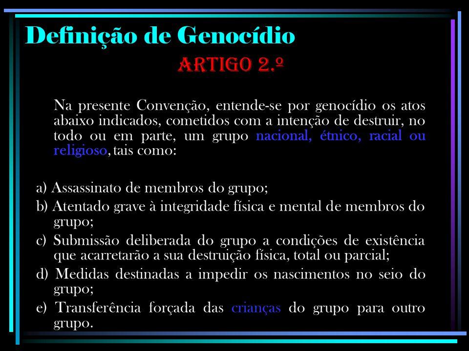 Definição de Genocídio