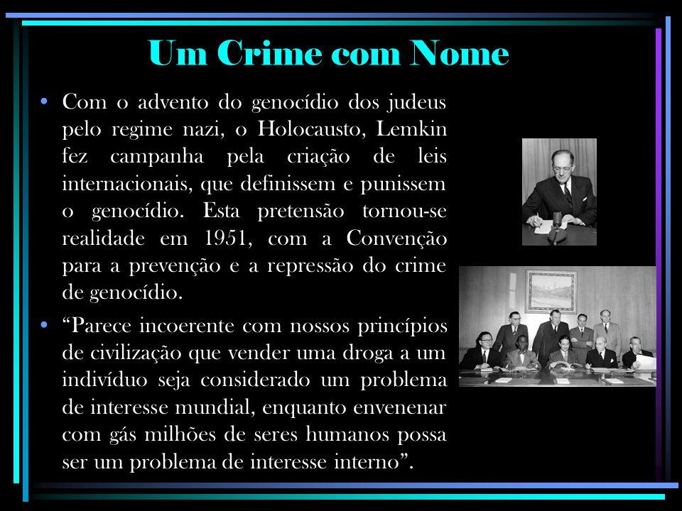 Um Crime com Nome