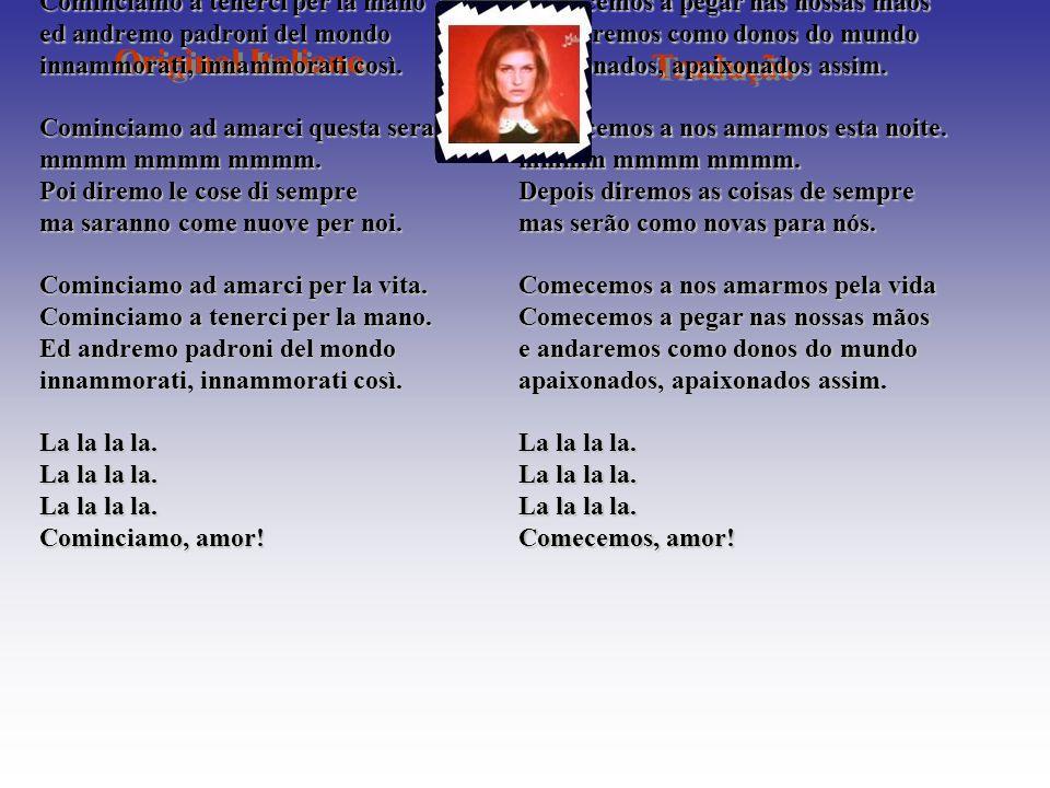 Original Italiano Tradução