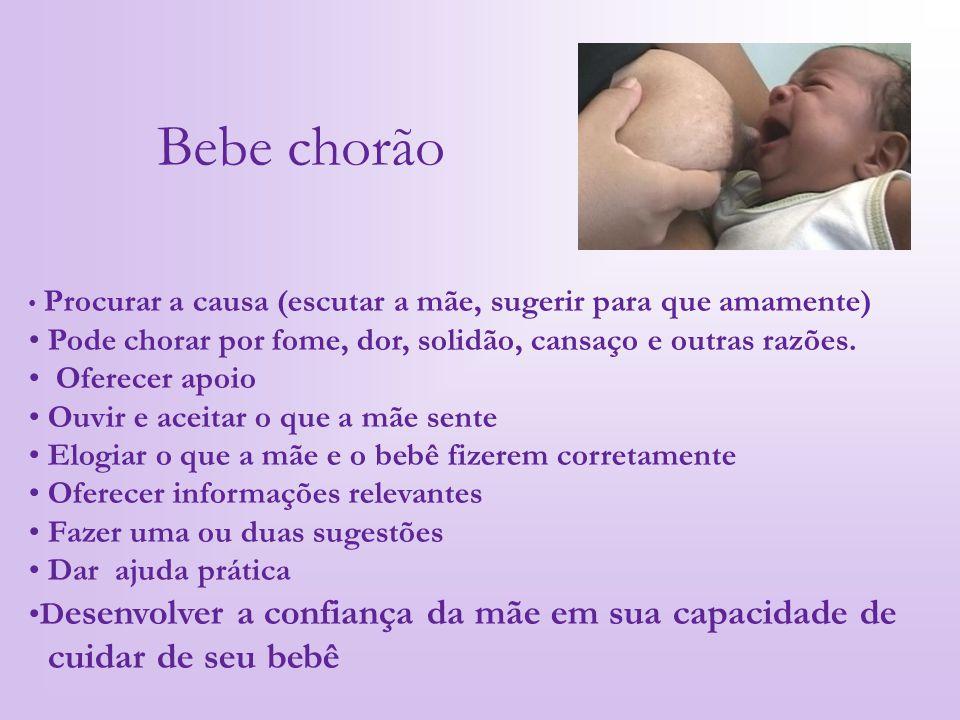 Bebe chorão cuidar de seu bebê