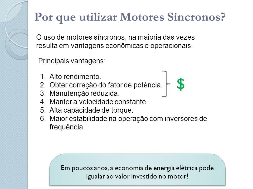 $ Por que utilizar Motores Síncronos