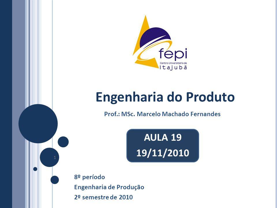 Prof.: MSc. Marcelo Machado Fernandes