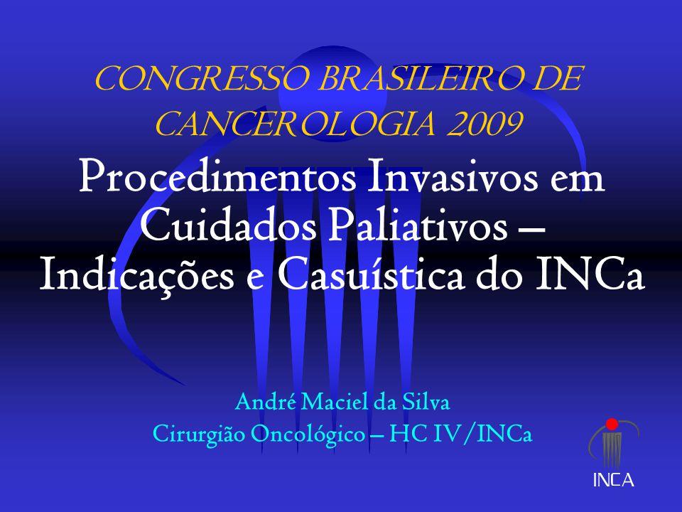 CONGRESSO BRASILEIRO DE CANCEROLOGIA 2009