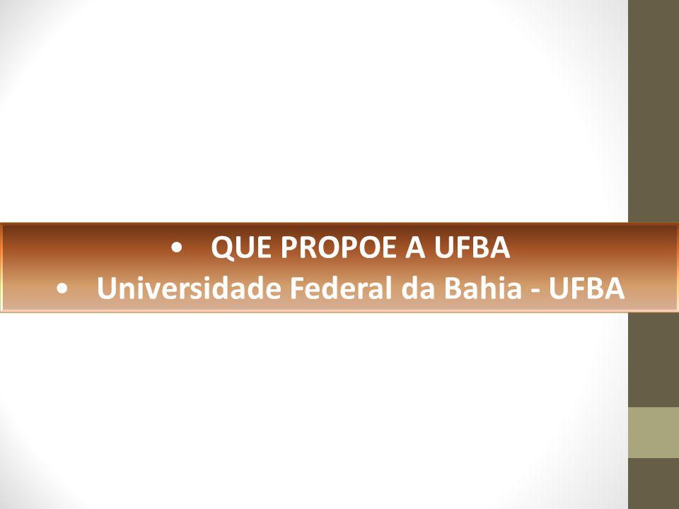 Universidade Federal da Bahia - UFBA