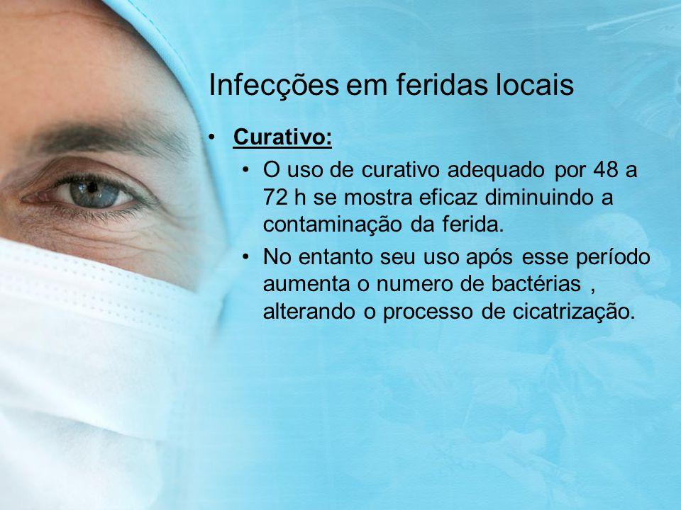 Infecções em feridas locais