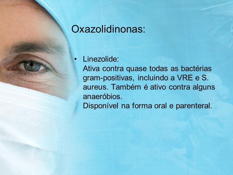 Oxazolidinonas: