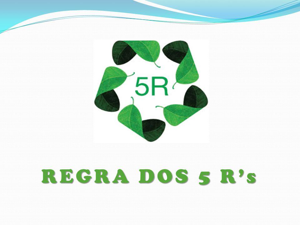 REGRA DOS 5 R's