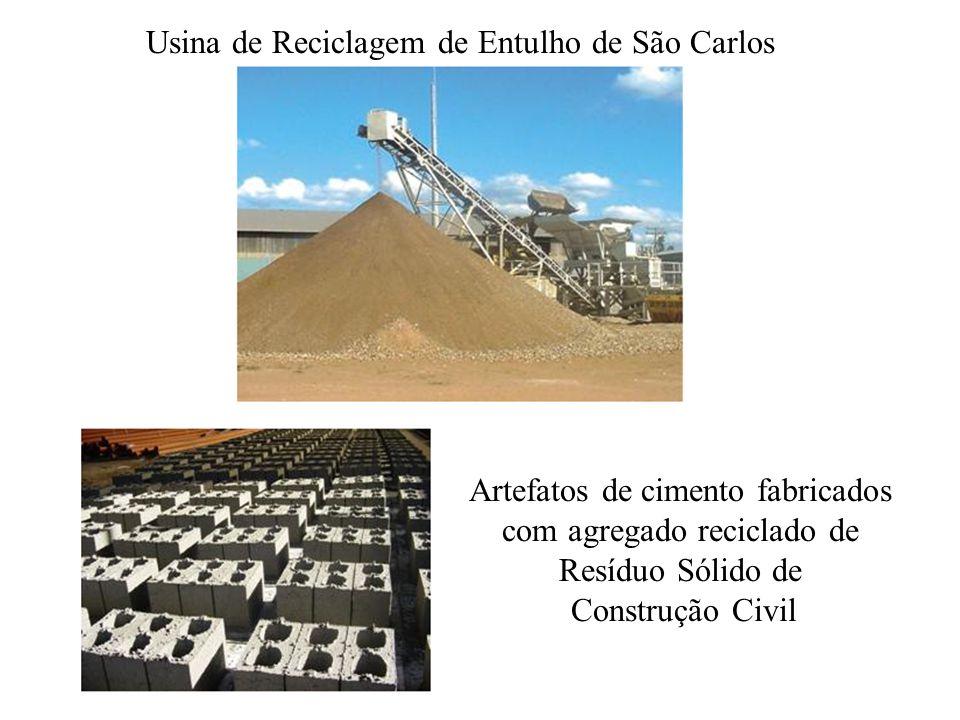 Usina de Reciclagem de Entulho de São Carlos