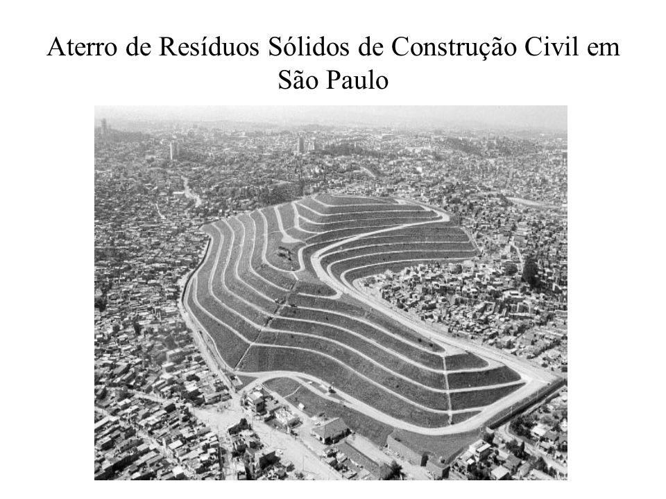 Aterro de Resíduos Sólidos de Construção Civil em São Paulo