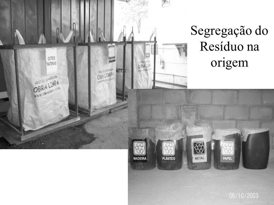 Segregação do Resíduo na origem